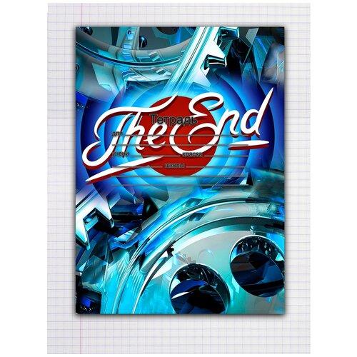 Купить Набор тетрадей 5 штук, 12 листов в клетку с рисунком The End!, Drabs, Тетради