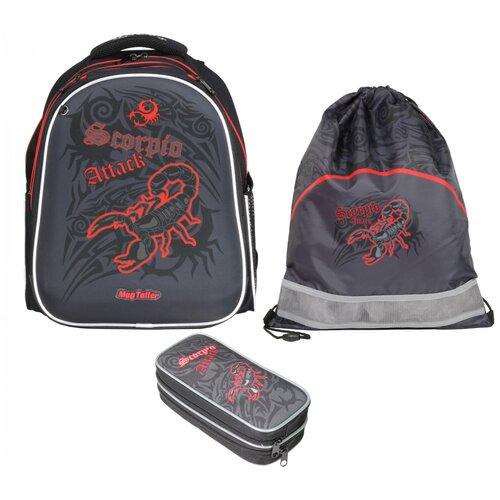 Фото - Рюкзак школьный MagTaller Stoody II, Scorpio, с наполнением magtaller рюкзак stoody butterfly синий