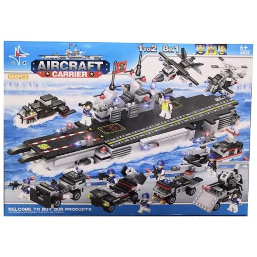 Конструктор LX Aircraft Carrier LX.A281 artwox trumpeter 05607 u s cv 3 saratoga aircraft carrier wooden deck aw10120