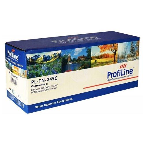 Картридж ProfiLine PL-TN-245C-C, совместимый картридж profiline pl tn 241bk bk совместимый