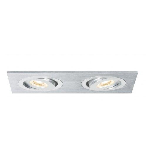 Фото - Встраиваемый светильник Paulmann 92537 встраиваемый светодиодный светильник paulmann 92537