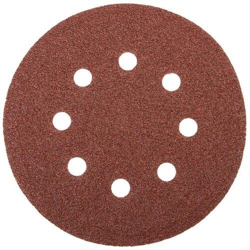 Фото - Шлифовальный круг на липучке ЗУБР 35562-125-600 125 мм 5 шт шлифовальный круг на липучке fit 39666 125 мм 5 шт