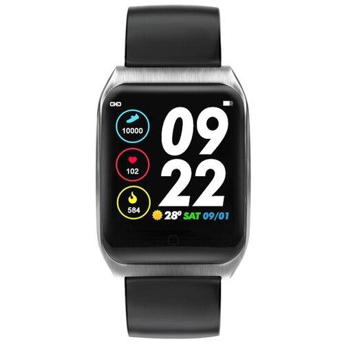 Умные часы XRide E58 (silicone), черный