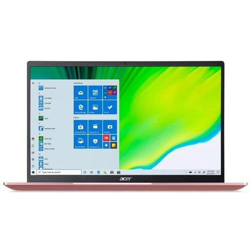 "Ноутбук Acer Swift 1 SF114-33-P90B (Intel Pentium N5030 1100MHz/14""/1920x1080/8GB/512GB SSD/Intel UHD Graphics 605/Windows 10 Home) NX.A9NER.003 розовый"