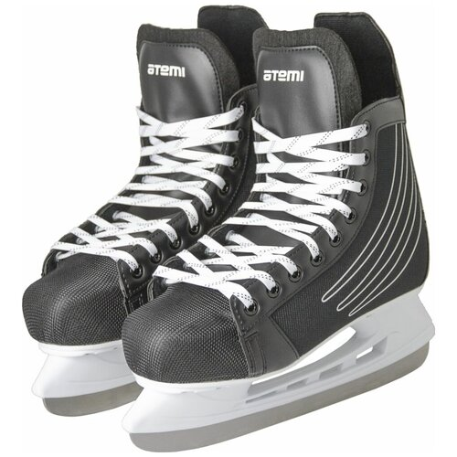Хоккейные коньки ATEMI AHSK-21.01 Race черный р. 45