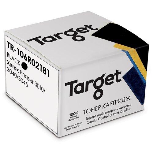 Фото - Тонер-картридж Target 106R02181, черный, для лазерного принтера, совместимый тонер картридж target tk715 черный для лазерного принтера совместимый