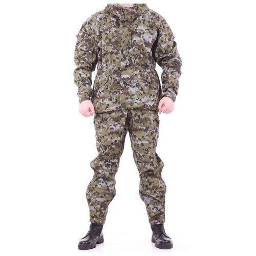 Костюм KE Tactical Горка-3 рип-стоп пограничная цифра 170 – 176 52-54 костюм ke tactical горка мембрана на флисе multicam 170 – 176 52 54