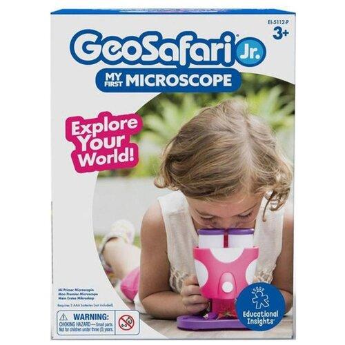 Фото - Микроскоп Learning Resources Игровой набор Геосафари Мой первый микроскоп (ЕI-5112-P) розовый микроскоп