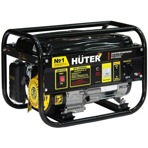 Бензиновый генератор Huter DY3000L (2500 Вт)