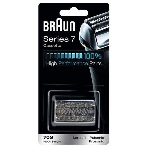 Фото - Сетка и режущий блок Braun 70S (Series 7) сетка и режущий блок braun series7 70s [81387979]