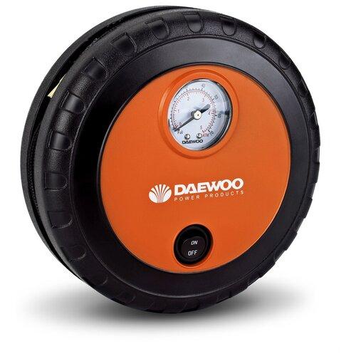 Фото - Автомобильный компрессор Daewoo Power Products DW25 оранжевый/черный пылесос автомобильный daewoo power products davc100 черный оранжевый
