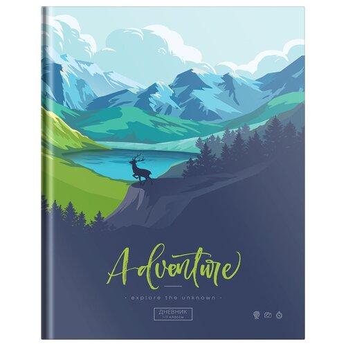 Купить ArtSpace Дневник школьный Волшебный мир синий, Дневники