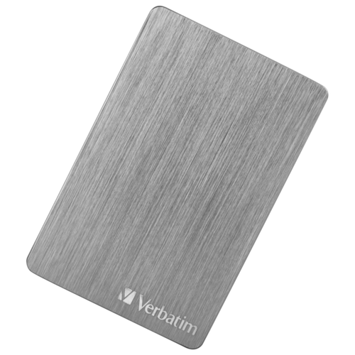 Внешний HDD Verbatim Store'n'Go ALU Slim 2 TB серо-серебристый
