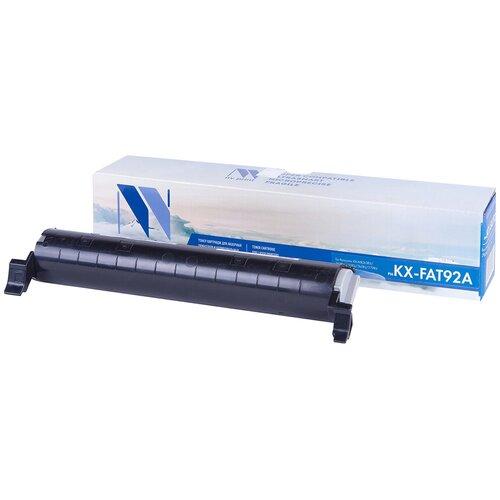 Фото - Картридж NV Print KX-FAT92A для Panasonic, совместимый картридж panasonic kx fat92a kx fat92a kx fat92a kx fat92a для для kx mb263 kx mb283 kx mb763 kx mb773 kx mb783 2000стр черный