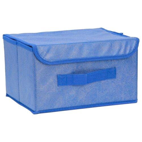 доляна короб для хранения с крышкой 30 х 28 х 15 см фабьен Доляна Короб для хранения с крышкой 26 х 20 х 16 см фабьен