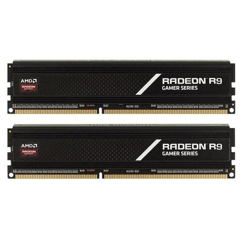 Оперативная память AMD Radeon R9 Gaming Series 16GB (8GBx2) DDR4 3000MHz DIMM 288-pin CL16 R9S416G3000U2K