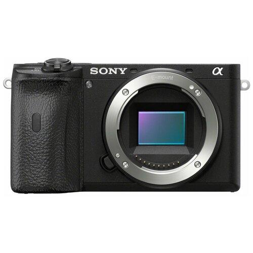 Фото - Фотоаппарат Sony Alpha ILCE-6600 Body черный фотоаппарат lumicam dk02 черный