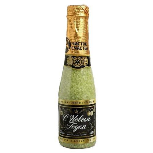 Фото - Чистое счастье Соль для ванн Российское шампанское С Новым годом аромат зимнего яблока 4409087, 300 г добропаровъ соль для ванн с маслом ели 3005701 300 г