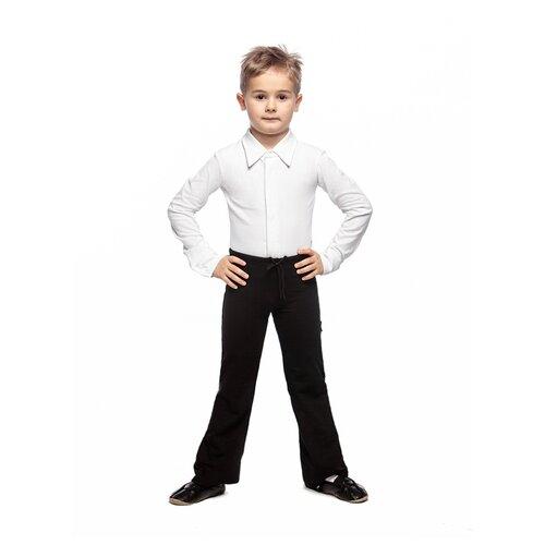 Брюки гимнастические детские, ALIERA, Б 4.03, размер 146-152, черный брюки orby 100117 размер 146 152 черный