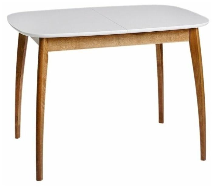 """Стоит ли покупать Стол обеденный прямоугольный раздвижной из массива дерева """"Спайдер мини"""" (70 х 105/137,5 см), айс, Экомебель? Отзывы на Яндекс.Маркете"""