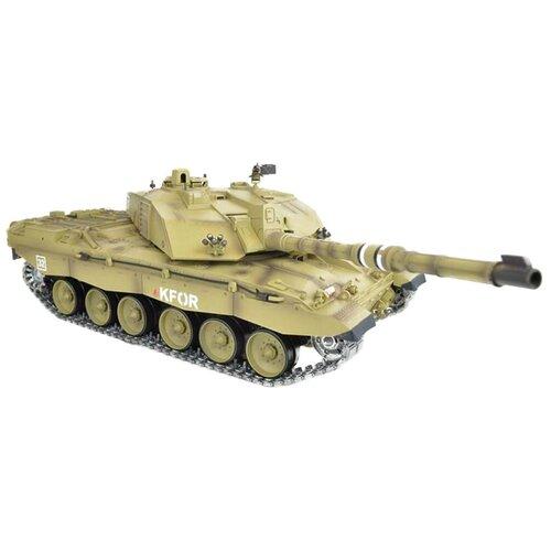 Танк Heng Long British Challenger 2 (3908-1PRO) 1:16 72.5 см зеленый танк heng long dak pzkpfw iv ausf f 1 3858 1pro 1 16 40 3 см бежевый