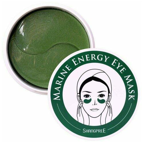 Shangpree Гидрогелевые патчи для глаз с экстрактами водорослей Marine Energy Eye Mask, 60 шт. aronyx патчи marine aqua energy eye patch гидрогелевые с морскими водорослями 60 шт