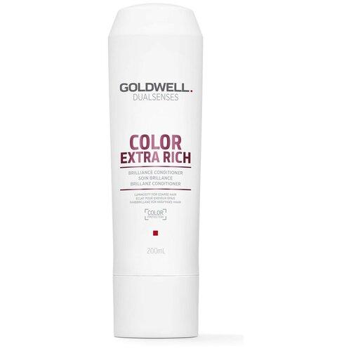 Купить Goldwell Dualsenses кондиционер Color extra rich brilliance conditioner для блеска окрашенных толстых и жестких волос, 200 мл