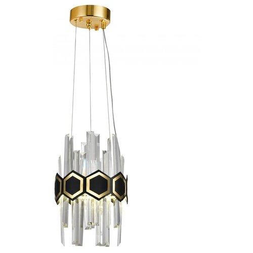 Фото - Подвесная светодиодная люстра Natali Kovaltseva LED LAMPS 81104/1W 25W Золото 3000K светодиодное бра 18w led lamps 81148 1w natali kovaltseva
