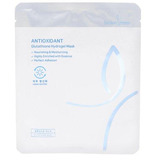 Beauugreen Гидрогелевая маска с антиоксидантным эффектом Antioxidant Glutathione Hydrogel Mask, 30 мл
