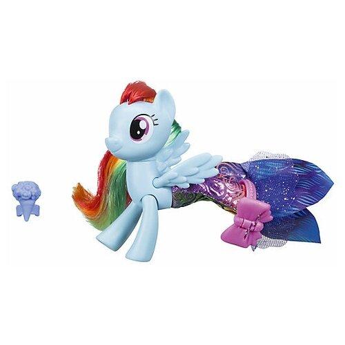 Фигурка My Little Pony Hasbro Пони в волшебных платьях Мерцание, голубой