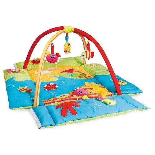 коврики для купания canpol цветной океан 5 шт 80 003 Развивающий коврик Canpol Babies Цветной океан (68/030)