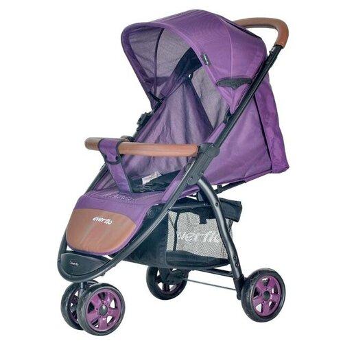 Фото - Прогулочная коляска everflo E-450 Racing, purple прогулочная коляска everflo easy guard jeans
