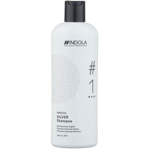 Indola оттеночный шампунь Innova Silver #1 Wash Нейтрализующий, 300 мл недорого