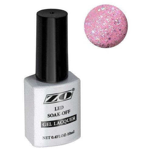 Купить Гель-лак для ногтей ZO mGL, 10 мл, 107 розовый голографический