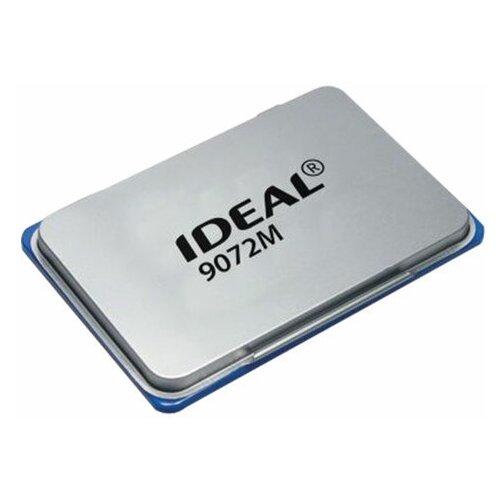 Штемпельная подушка TRODAT IDEAL (110х70 мм) металлическая синяя 9072Мс 153122