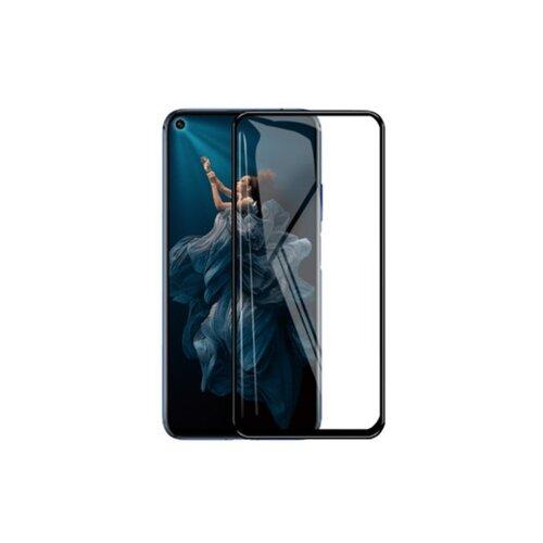 3D/5D защитное стекло MyPads для Huawei Nova 6 SE /Huawei Nova 7i / Huawei P40 Lite с закругленными изогнутыми краями которое полностью закрывает экран / дисплей по краям с олеофобным покрытием