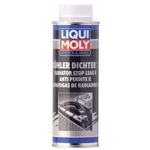 Универсальный герметик для ремонта автомобиля LIQUI MOLY Pro-Line Kuhlerdichter K 2294, 250 мл белый герметик для ремонта автомобиля набор для ремонта автомобиля liqui moly auspuff bandage 3344 бесцветный