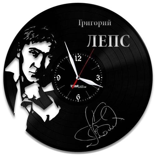Часы из виниловой пластинки (c) VinylLab Григорий Лепс