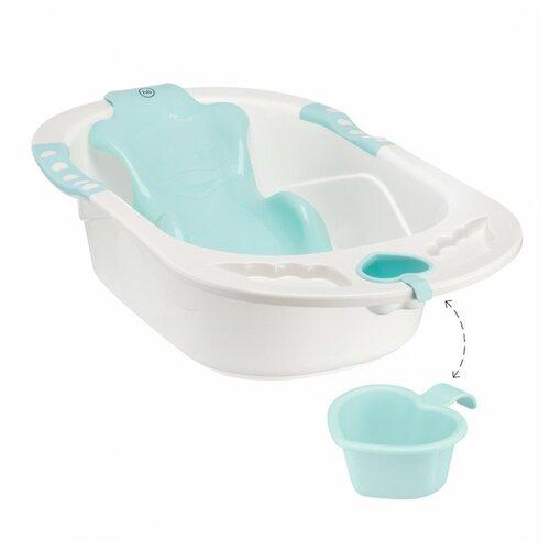 Купить Анатомическая ванночка Happy Baby Bath comfort aquamarine, Ванночки