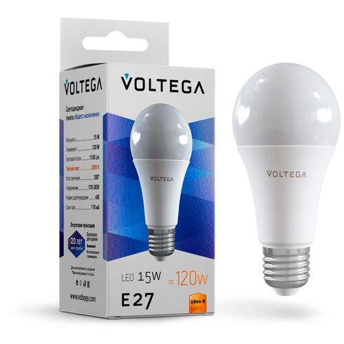Лампочка Voltega LED E27 15W 7156