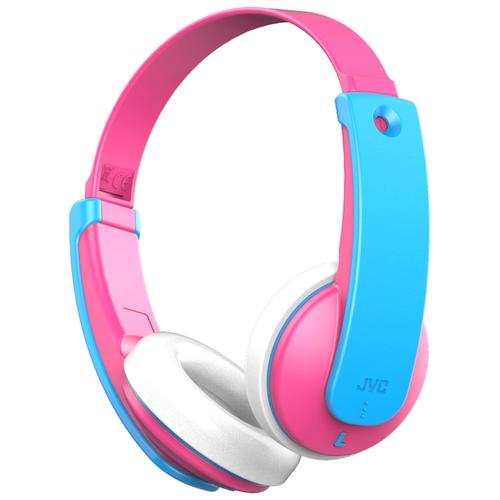 Беспроводные наушники JVC HA-KD9BT, pink/blue