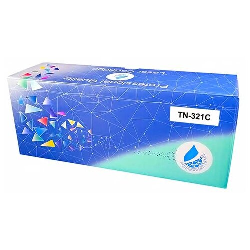 Фото - Картридж Aquamarine TN-321C (совместимый с картриджем Konica-Minolta TN-321C) картридж uniton tn 2175 совместимый
