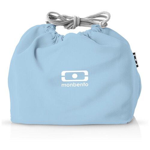 Monbento Мешочек для ланча MB Pochette, 17x19 см, Blue Crystal недорого