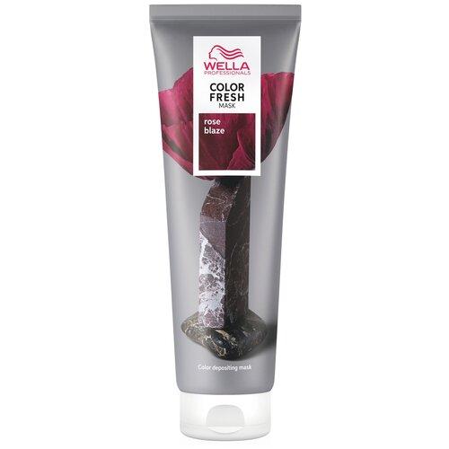 Купить Wella Professionals Оттеночная маска для волос Color Fresh Roze Blaze (Малиновый рассвет), 150 мл
