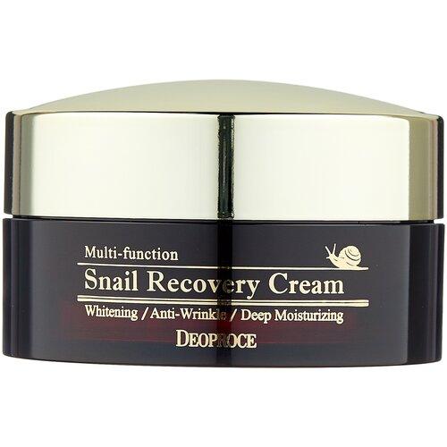 Deoproce Snail Recovery Cream Восстанавливающий крем для лица с муцином улитки, 100 г крем с фильтратом слизи улитки deoproce snail recovery cream