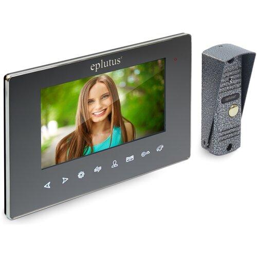 IP AHD домофон Wi-Fi Eplutus EP-6814LG - ip домофон, продажа домофонов, домофон многоквартирный, замок с домофоном на калитку