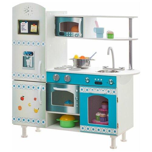 Кухня PAREMO PK218 бело-голубой