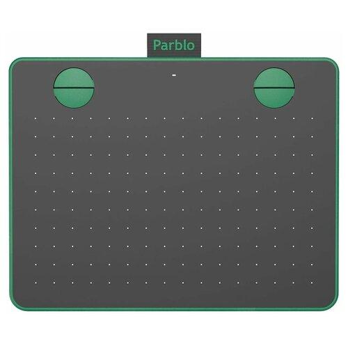 Графический планшет Parblo A640 V2 зелeный