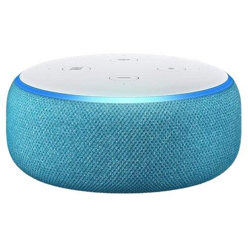 Умная колонка Amazon Echo Dot 3rd Gen Kids Edition Blue