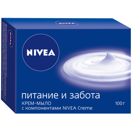 Крем-мыло кусковое Nivea Питание и Забота, 100 г недорого
